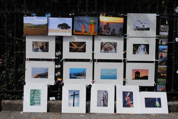 Display of my pictures at Peoples Photography